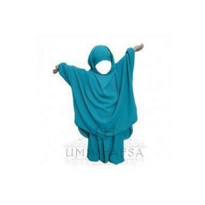 Jilbeb fillette Umm Hafsa Turquoise