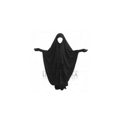 Jilbeb à Clips 2 pièces Umm Hafsa Noir