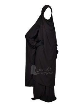 cape du jilbab Ad-Dayyin noir