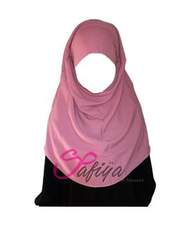 foulard jilbeb fillette rose-t2