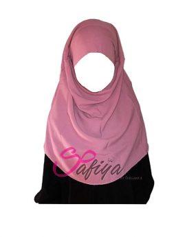 foulard jilbeb fillette rose-t2