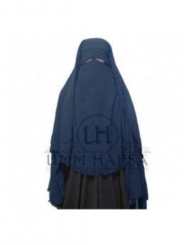 Sitar Niqab casquette Umm Hafsa 1m60 Bleu marine