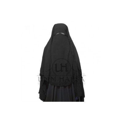 Sitar Niqab casquette Umm Hafsa 1m60 Noir