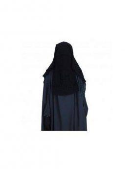 Sitar Niqab casquette umm hafsa 95cm Noir