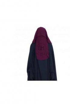 Sitar Niqab casquette umm hafsa 95cm Prune