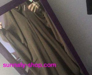 Jilbeb à clips 1 pièce Umm Hafsa Cannelle Sunnaty-shop