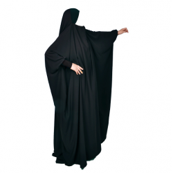 Jilbeb 1 pièce saoudien Mouhajiroun Gris