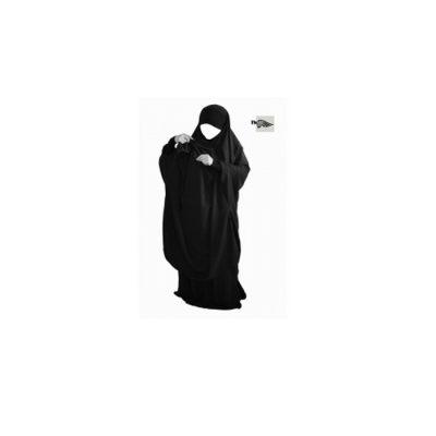 Jilbeb Allaitement Mouhajiroun 2 pièces Noir