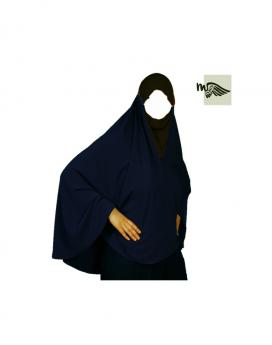 Hijab niqab Mouhajiroun bleu marine
