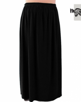 jupe à poche mouhajiroun noire