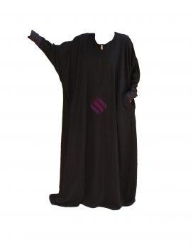 abaya à poches sunnaty