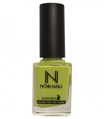 Vernis washable vert anis