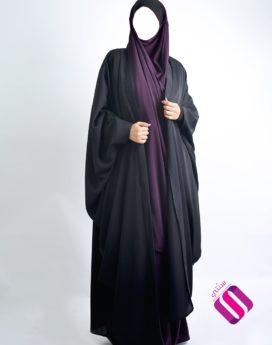 kimono Nidha Sourour noir