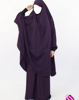 Jilbab Al Houda Caviary