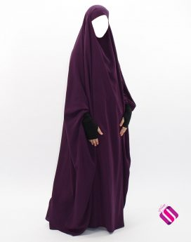 jilbab makkah 1 pièce