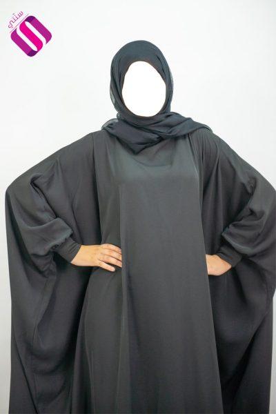 abaya papillon large al moultazimoun