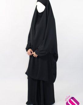 Jilbab Khawthar 2 pièces Al Moultazimoun