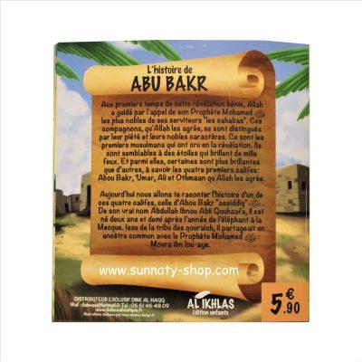 L'histoire du compagnon Abu bakr 3/6 ans