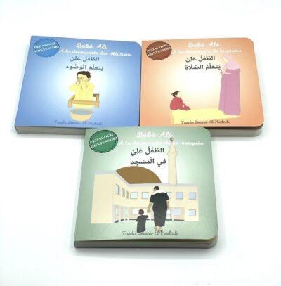 Pack 3 livres Bébé Ali