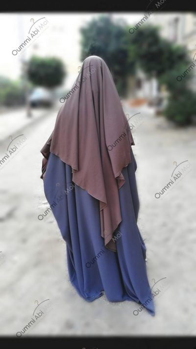 Abaya Saoudienne Bint.a (Semi Caviary)