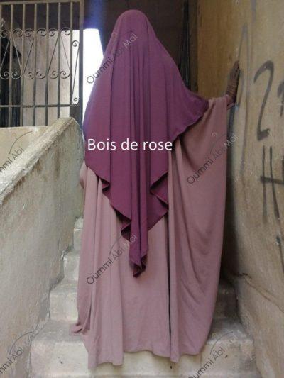 Maxi khimar bint.a bois de rose