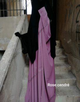Saoudienne Bint.a rose cendré
