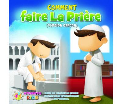Mon livre de prière version garçon - Athariya