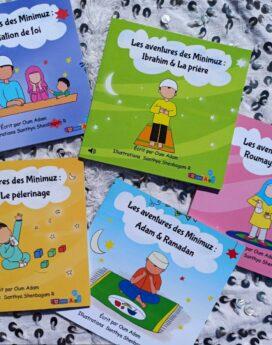 """Pack 5 livres """"les piliers de l'islam"""" avec les Minimuz"""