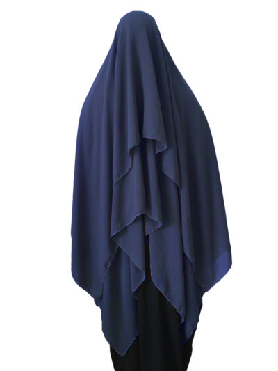 Khimar 2 Voiles AMINA Mousseline As Modesty